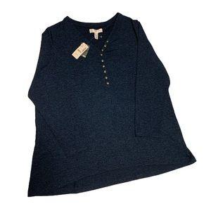 🆕 Addition Elle Blue Tunic - Women's Size 2X